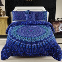 Boho Malia 4PC Tapestry Bedding Duvet Cover SET