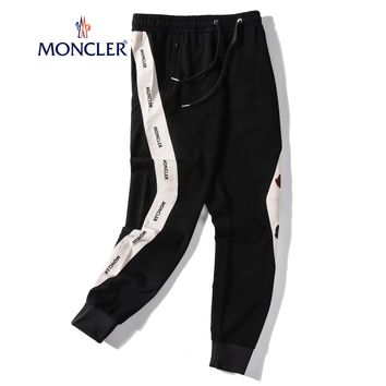 Moncler Hot Sale Women Men Casual Embroidery Running Pants Trousers Sweatpants