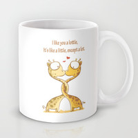Lottle Love Cute Giraffe  Mug by Lottle