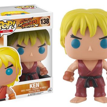 Ken Street Fighter Funko Pop! Figure #138