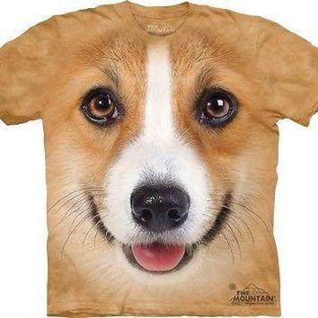 Big Face Corgi T-Shirt