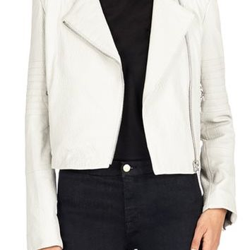 J Brand Jeans - Aiah Leather Jacket by J Brand