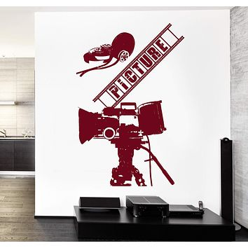 Wall Vinyl Decal Picture Film Move Cinema Hollywood Decor Unique Gift z3768