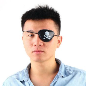 1PC Pirate Eye Patch Skull Crossbone Halloween Party Favor Bag Costume Kids Toy Brand New