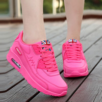 New 2016 Fashion Flats Women Trainers Breathable Woman Shoes Casual Outdoor Walking Women Flats Zapatillas Mujer size 36-40