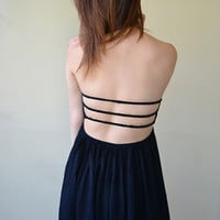 Strapless Black Dress | New Age Queen | Edgy Women's Tops, Skirts, Shorts, Dresses, Accessories, and More
