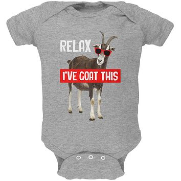 Relax I've Goat Got This Soft Baby One Piece