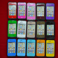 Latest 2013 Model iPhone 4 4S - 15 Colors (Lifeproof) Waterproof Shockproof Generic Apple iPhone 4 4S Case