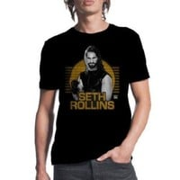 WWE Wrestling SETH ROLLINS T-Shirt NWT Licensed & Official