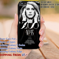Zoo Lana Del Rey iPhone 6s 6 6s+ 5c 5s Cases Samsung Galaxy s5 s6 Edge+ NOTE 5 4 3 #music #lana dl8