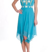 Issue New York Adelaide Dress in Aqua - Beyond the Rack