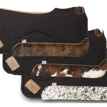 Saddles Tack Horse Supplies - ChickSaddlery.com Impact Gel Contour Pad With Hair-On-Hide