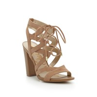 Yardley Suede Lace-Up Sandal