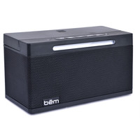 Bem Wireless HL2507B Express Bluetooth v4.0 Speaker w/LED Night Light Microphone & Phone Stand