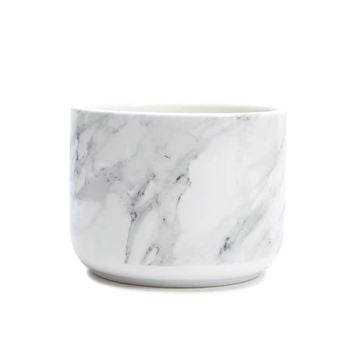 Marble Bathroom Canister
