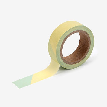 "Deco 0.59""X11yd single masking tape - Simple oblique 2"
