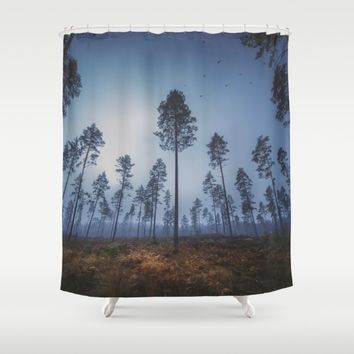 When she smiles in the morning Shower Curtain by HappyMelvin | Society6