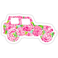 Lilly Pulitzer Inspired | Jeep #1 by lifeinlilly