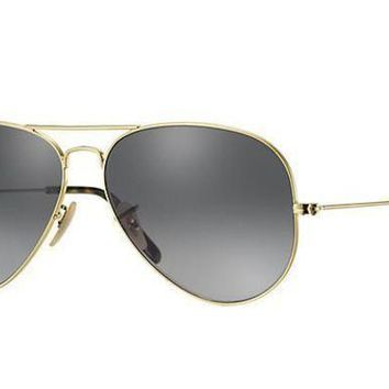 ESBON Ray Ban Aviator Sunglass Gold Dark Green RB 3025 181