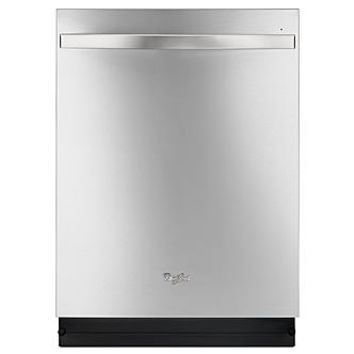 "Whirlpool WDT780SAEM 24"" Built-In Dishwasher - Stainless Steel"