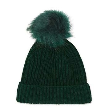 Tonal Pom Beanie - Bags & Accessories