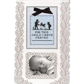 Wall Hanging - For This Child I Have Prayed (Boy)