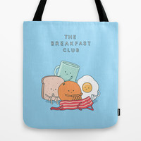 The Breakfast Club Tote Bag by Jaco Haasbroek