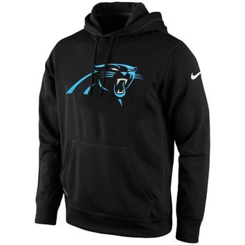 Carolina Panthers Nike KO Logo Essential Hoodie – Black