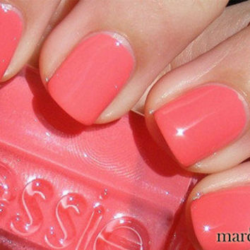 Essie Nail Polish (E686-Cute As A Button) NEW SUMMER COLLECTION PINK PEACH COLOR