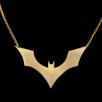 Batman Symbol Necklace