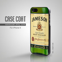 iPhone 5 Case - Jameson Wine, Irish Whiskey, Cool iPhone Case, Case for iPhone - A02A1338