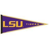 """Licensed LSU Tigers Official NCAA 12""""x30"""" Wool Pennant by Wincraft 639165 KO_19_1"""