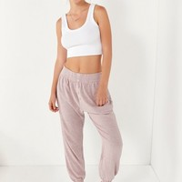 Out From Under Button-Front Jogger Pant | Urban Outfitters