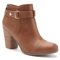 LC Lauren Conrad Poppey Women's Ankle Boots