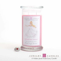 Happy Birthday Princess | Jewelry Greeting Candles