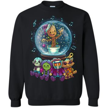 Guarding the globe Guardians of the Galaxy Ugly Sweater Perfect Christas Gifts