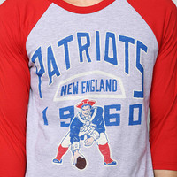 Junk Food NFL New England Patriots Raglan Tee - Urban Outfitters