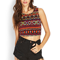 Mirrored Madness Crop Top