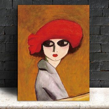 art canvas Picture decor poster  Wall art abstract  figure canvas painting art portrait  print Wall Pictures print modern wall