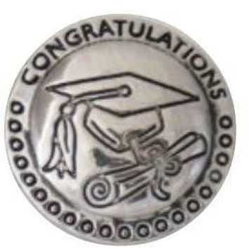 Graduation Cap and Diploma 20mm 3/4""