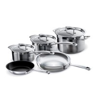 Le Creuset Stainless Steel Cookware Set at Sur La Table