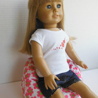 18 inch Doll Furniture for American Girl - Bean Bag Chair