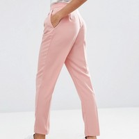 ASOS Soft Lux Tapered Pants at asos.com