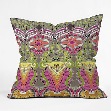 Sharon Turner Aphrodites Garden Throw Pillow