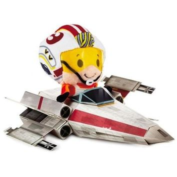 itty bittys Star Wars Luke Skywalker X-Wing Pilot 40th Anniversary Special Edition