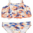 Girl's Ella Moss Girl 'Sedona' Crop Top Two-Piece Swimsuit,