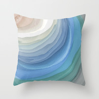 Topography Throw Pillow by Steven Womack