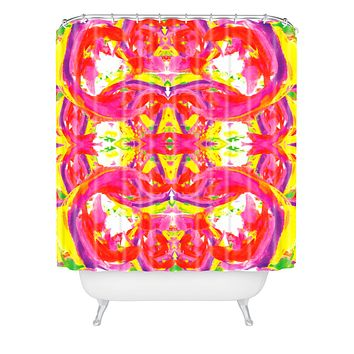 Ingrid Padilla Colorburst Shower Curtain