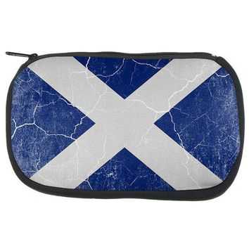 PEAPGQ9 Scottish Flag Distressed Grunge Scotland Travel Bag