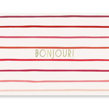 Bonjour + Hello Cards